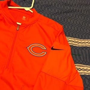 Men's NFL Nike Chicago Bears Windbreaker Pullover